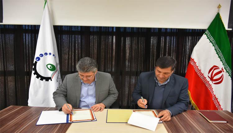 تفاهم نامه ای ما بین دانشگاه فنی و حرفه ای و پارک علم و فناوری استان منعقد شد