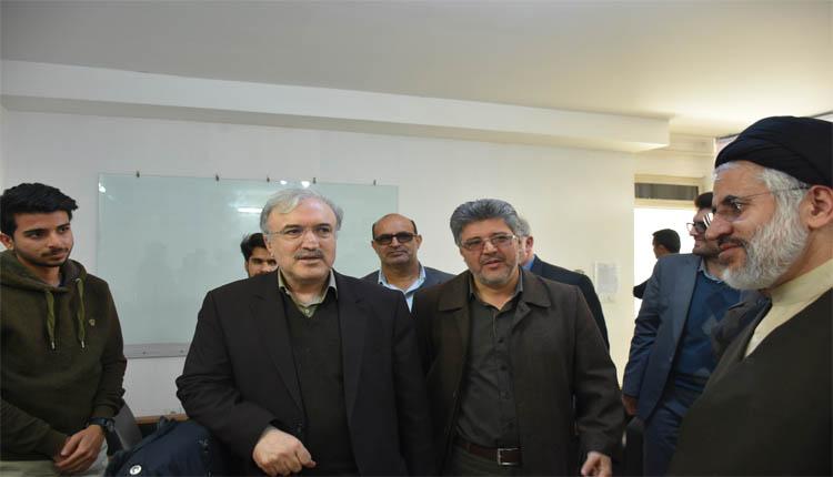 بازدید معاون سازمان برنامه و بودجه کشور از پارک علم و فناوری خراسان جنوبی