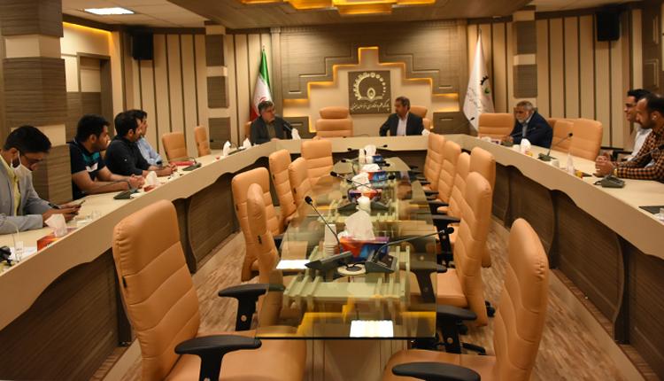 بازدید آقای خسروی نماینده منتخب مردم شریف بیرجند، درمیان و خوسف از پارک علم و فناوری خراسان جنوبی