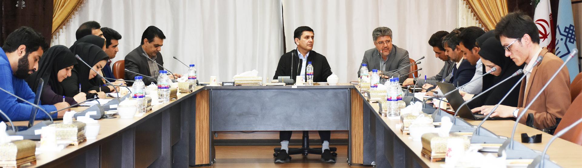 نشست خبری رئیس پارک علم و فناوری خراسان جنوبی و رئیس محترم دانشگاه بیرجند با محوریت پنجمین استارتاپ ویکند بیرجند