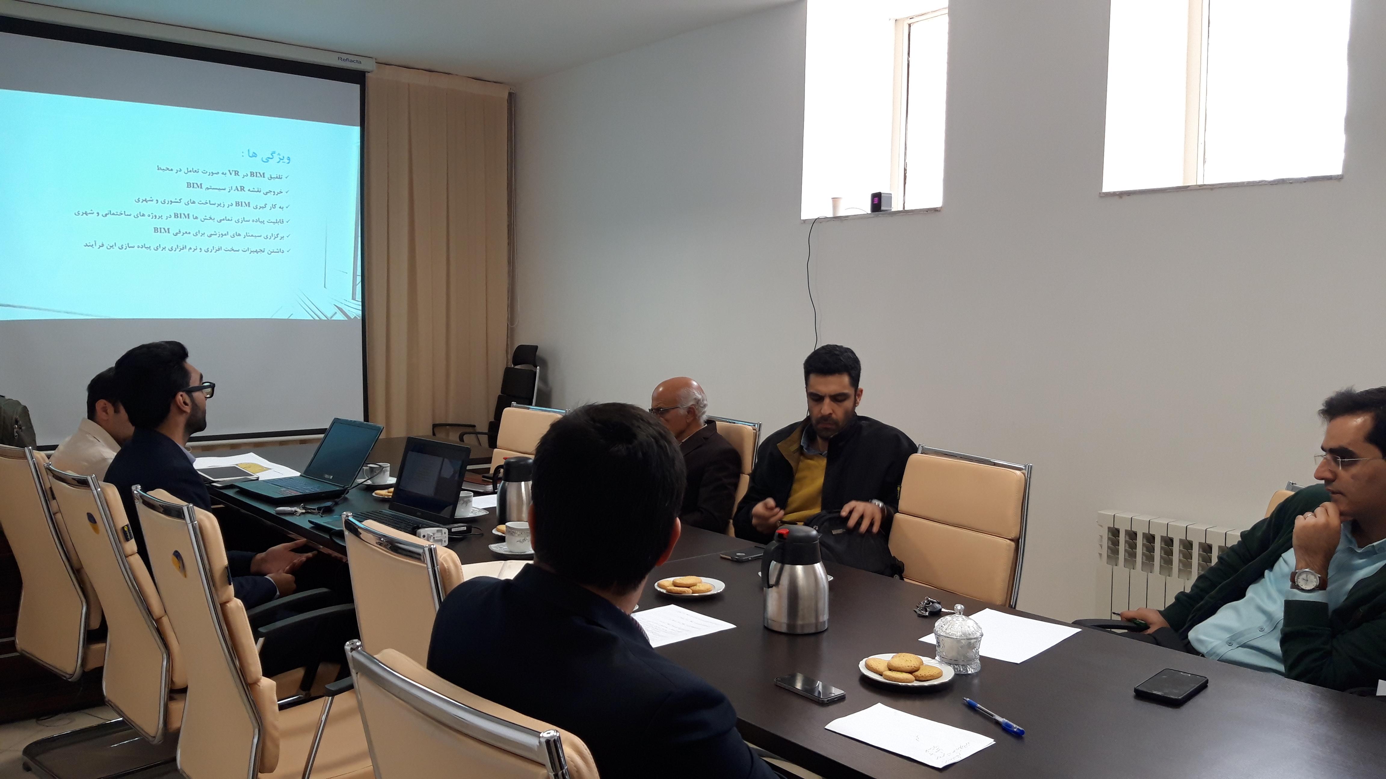برگزاری هفتاد و ششمین جلسه شورای مرکز رشد