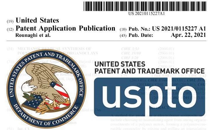 ثبت اختراع در اداره ثبت اختراع و نشان تجاری آمریکا توسط شرکت نانو پارمین خاوران