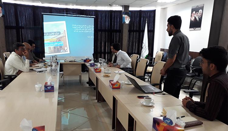 برگزاری پنجاه و دومین  جلسه شورای مرکز رشد واحدهای فناور پارک
