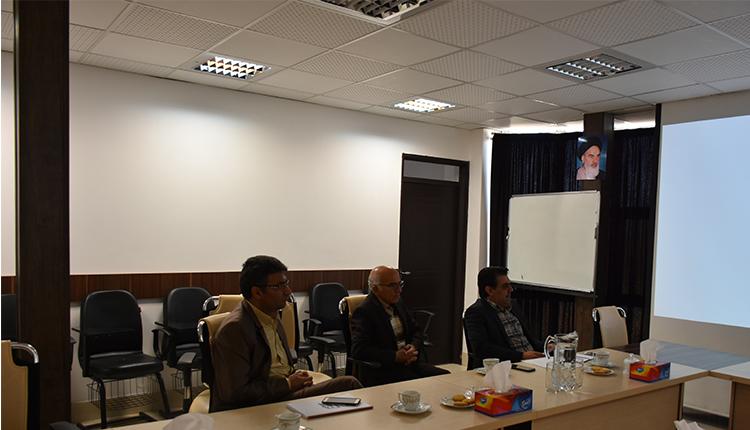 برگزاری شصتمین جلسه شورای مرکز رشد واحدهای فناور پارک
