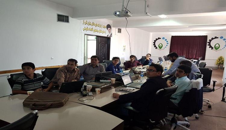 جلسه اول کارگاه آموزشی طراحی سایت
