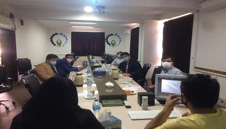 چهل و یکمین شورای فناوری مرکز رشد واحدهای فناور قاین برگزار شد