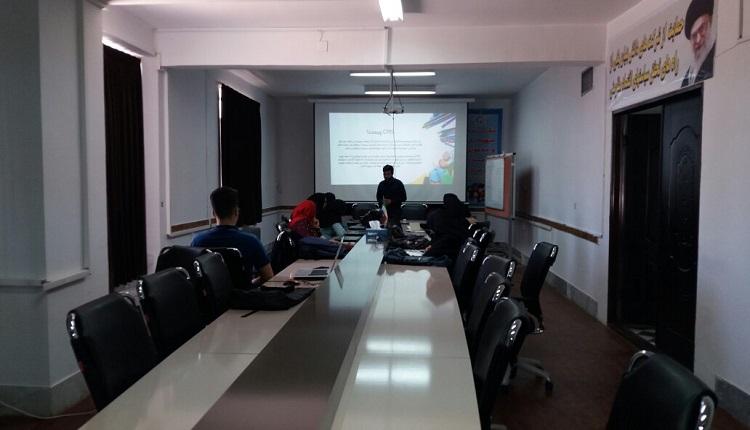 کارگاه آموزشی طراحی سایت برگزار شد
