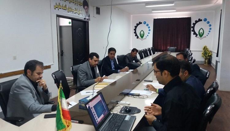 بیست و هشتمین شورای فناوری مرکز رشدواحدهای فناور قاین برگزار گردید