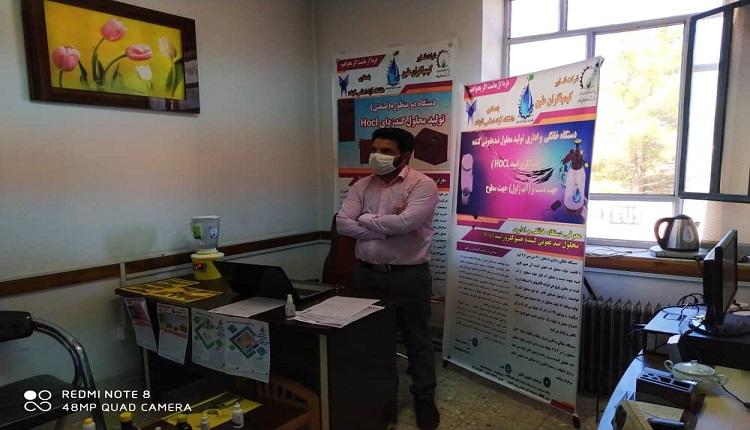 قاسم اسماعیلی فناور قاینی عنوان برتر نشان شهید موسوی در جشنواره جایزه ملی جوان نوآور ماندگار را کسب کرد