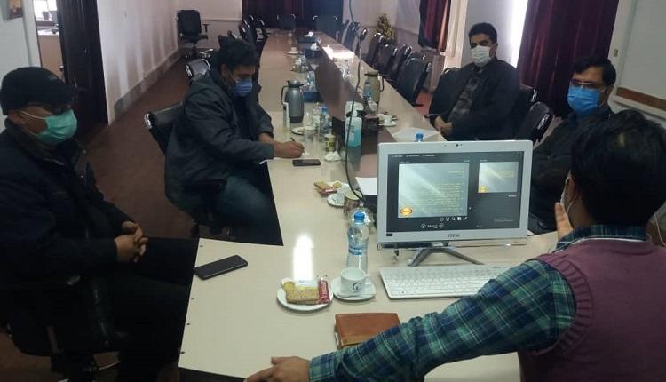 سی و نهمین شورای فناوری مرکز رشد واحدهای فناور قاین برگزار شد