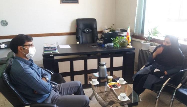 بازدید رئیس جهاد دانشگاهی مرکز قاین از مرکز رشد واحد های فناور قاین