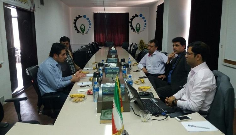 سی امین جلسه شورای فناوری مرکز رشد واحد های فناور قاین برگزار شد