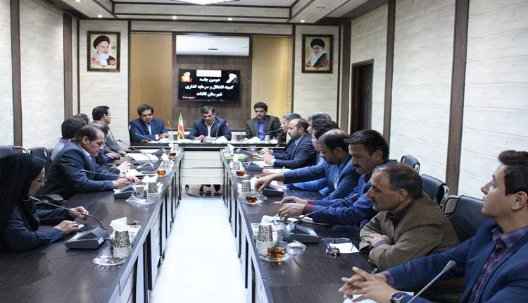 دومین جلسه کارگروه اشتغال و رونق تولید شهرستان قائنات در محل سالن جلسات فرمانداری برگزار گردید.