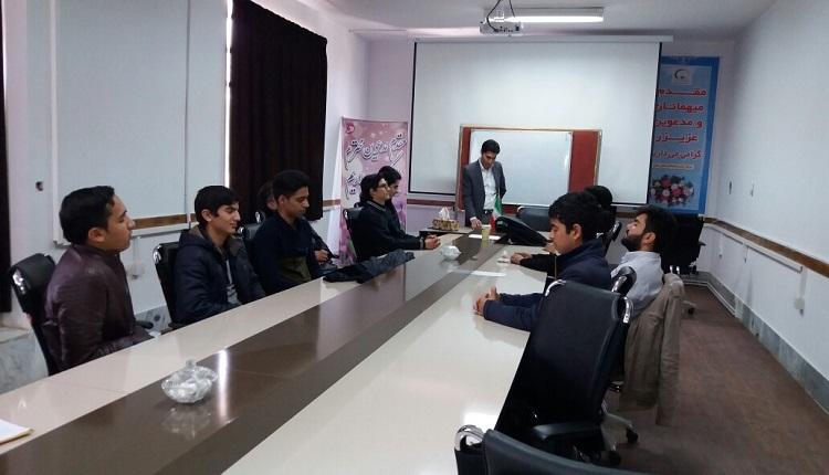 کارگاه مهارت های ارتباطی(طرح اتاق کارآفرینی مدارس) ویژه پسران برگزار گردید