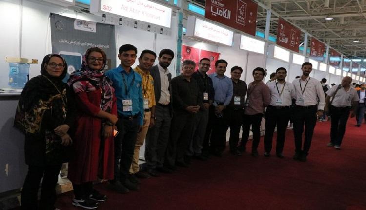 فناوران مرکز رشد واحد های فناور قاین در بیست و پنجمین نمایشگاه بین المللیال کامپ حضور یافتند