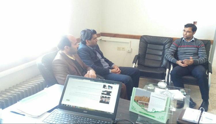 بازدید ریاست محترم کمیته امداد امام خمینی (ره)شهرستان قاینات از مرکز رشد واحد های فناور قاین
