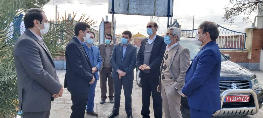 بازدید دکتر رحیمی معاون پژوهش و فناوری وزیر علوم، تحقیقات و فناوری از مرکز رشد
