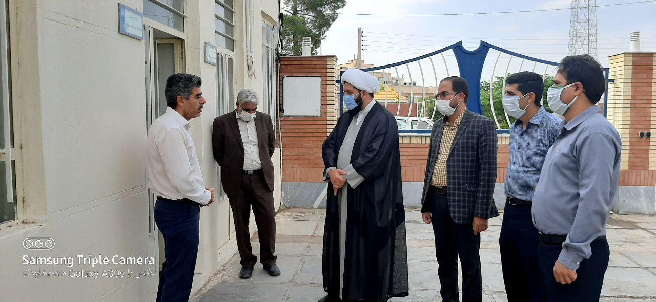 بازدید حجت الاسلام نصیرایی نماینده مردم فردوس ؛ طبس؛ بشرویه و سرایان از مرکز رشد فردوس