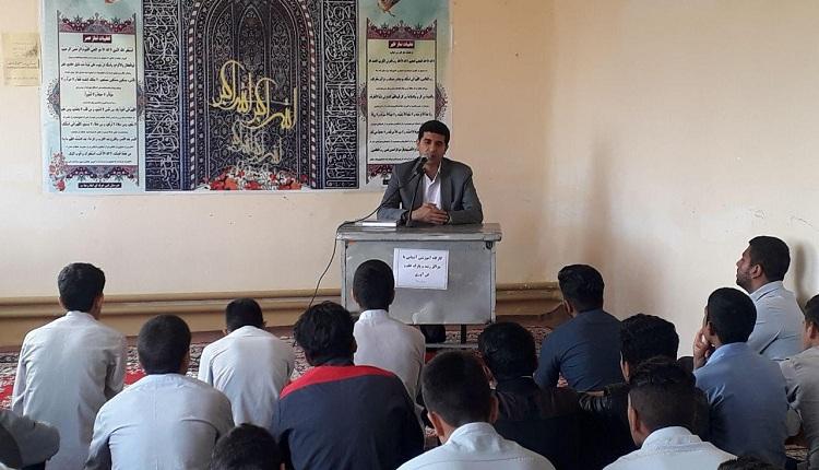 دانش آموزان علاقه مند هنرستان امام رضا سرایان با شرایط پذیرش و ضوابط مرکز رشد فردوس آشنا شدند.