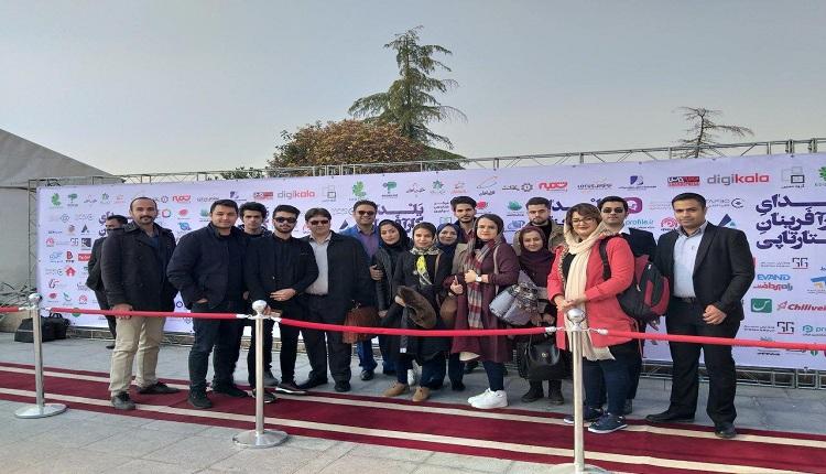 حضور نفرات برگزیده استارت آپ ویکند فردوس در همایش یلدای کار آفرینان استارتاپی در برج میلاد تهران