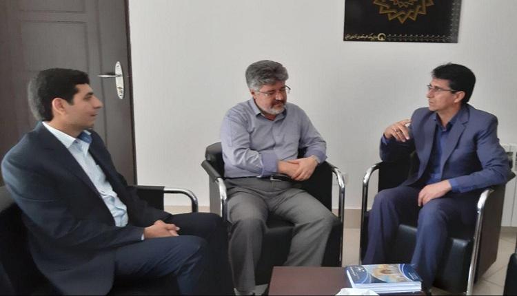 جلسه رئیس شورای اسلامی شهر فردوس با رئیس پارک علم و فناوری استان خراسان جنوبی