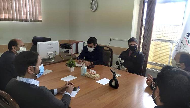 برگزاری جلسه عقد قرارداد مابین شرکت آساپردازش و مرکز نیکوکاری کارآفرینی