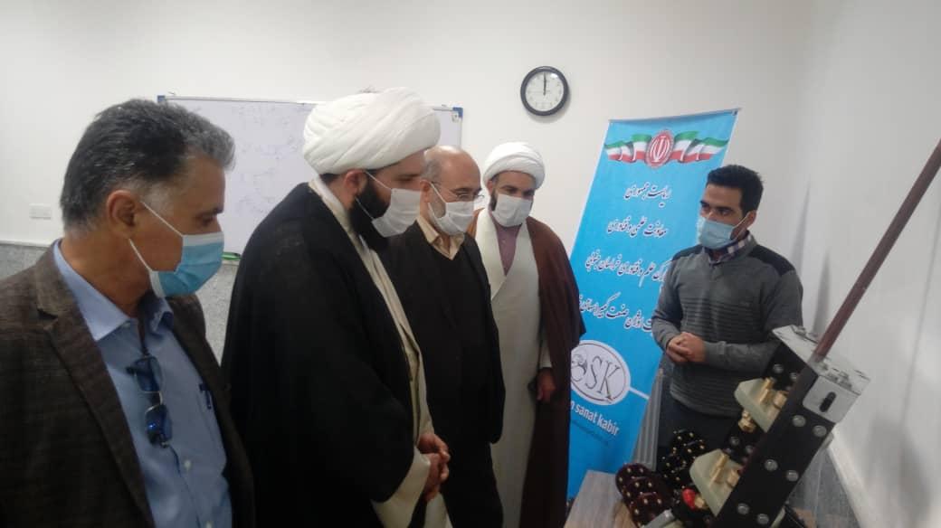 بازدید از شرکت اوژن صنعت کبیر توسط حجت الاسلام و المسلمین نصیرایی نماینده محترم مردم فردوس، طبس و سرایان