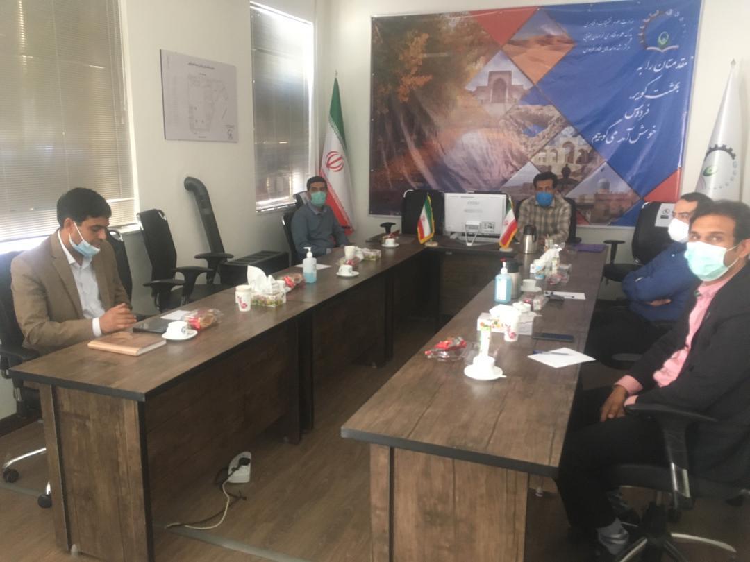 جلسه دفاع مرحله پیش رشد شرکت طبیب دام فردوس