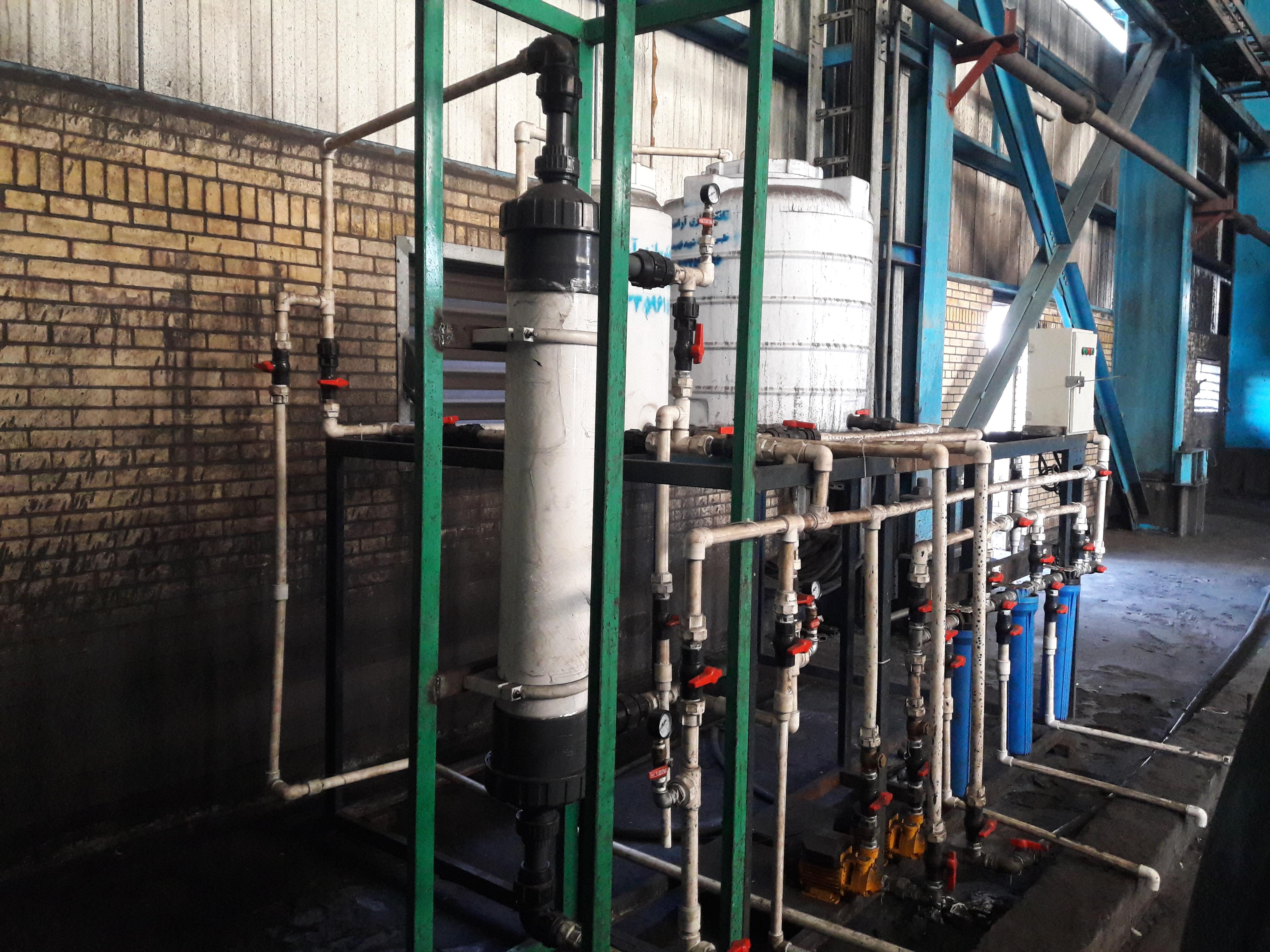 راه اندازی و بهره برداری سیستم حذف فلوکولانت در سایت کارخانه زغالشویی پروده طبس