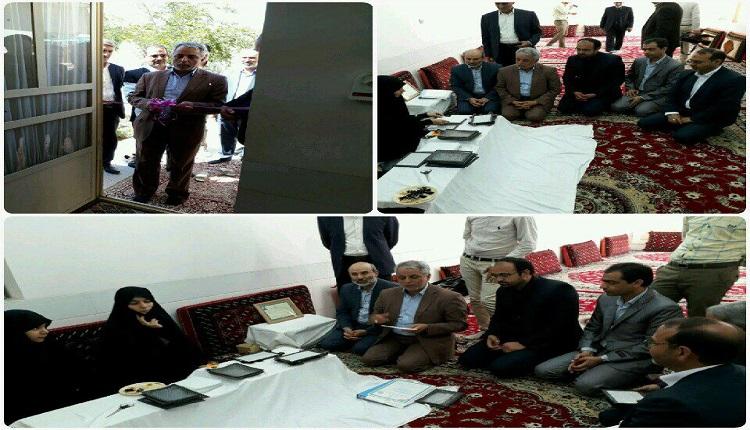 افتتاح کارگاه خانگی تولید کننده فیلترهای پارچه ای خودرو توسط شرکت اطمینان یدک بشرویه در هفته دولت